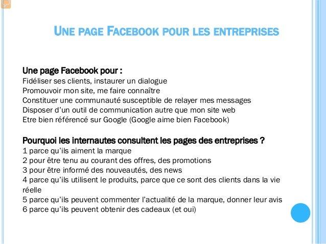 VOTRE PAGE FACEBOOK Auditez votre pageCréez votre page DEUX GROUPES ! 2ème PARTIE DE L'ATELIER : animer vos pages Facebook...