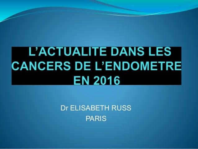 Dr ELISABETH RUSS PARIS
