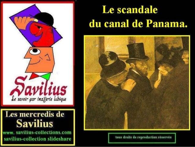 Le scandale du canal de Panama bulles 2