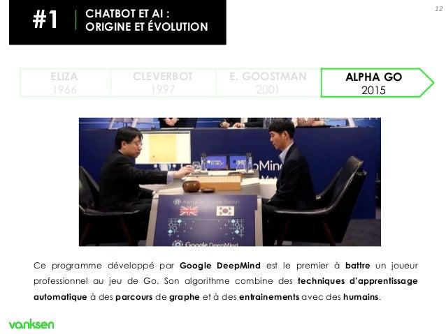 Ce programme développé par Google DeepMind est le premier à battre un joueur professionnel au jeu de Go. Son algorithme co...