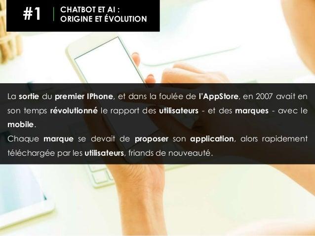 La sortie du premier IPhone, et dans la foulée de l'AppStore, en 2007 avait en son temps révolutionné le rapport des utili...