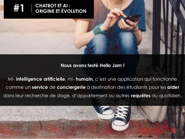 Nous avons testé Hello Jam ! Mi- intelligence artificielle, mi- humain, c'est une application qui fonctionne comme un serv...