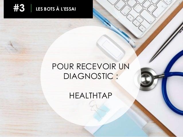 74 #3 LES BOTS À L'ESSAI POUR RECEVOIR UN DIAGNOSTIC : HEALTHTAP