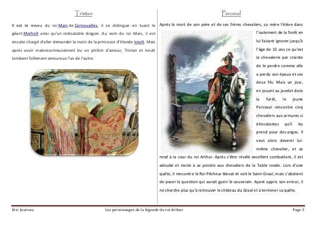 Les chevaliers de la table ronde tous les chevaliers - Noms des chevaliers de la table ronde ...