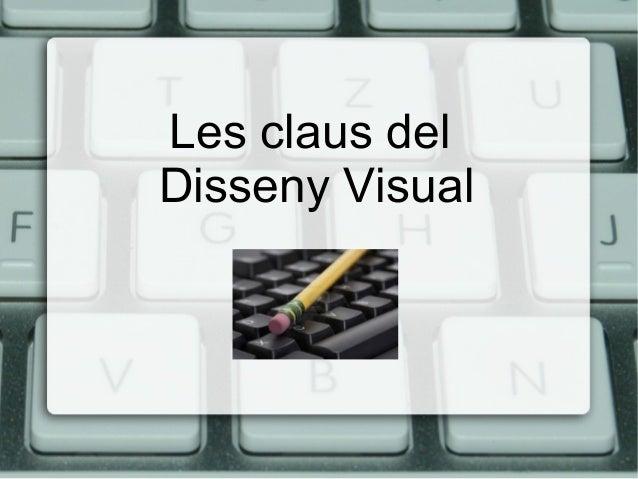 Les claus del Disseny Visual