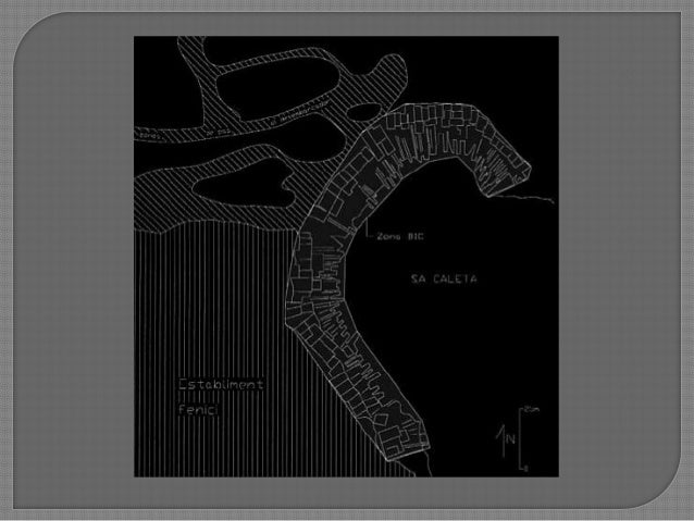 """Poblat  gran nombre de construccions de planta rectangular o lleugerament trapezoidals. Inexistencia d""""una orientació f..."""
