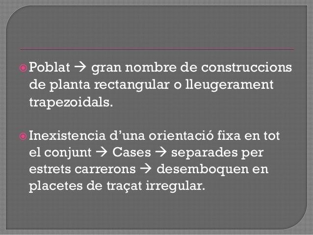 """ Estudi de la primera ocupació de l""""actual ciutat d'Eivissa  dificultat = perduració de l""""ocupació del nucli urbà fins a..."""