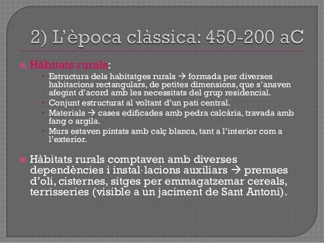""" Colònia cartaginesa d""""Eivissa = Fase de màxim esplendor econòmic  fins a l""""acabament tercera Guerra Púnica (146 aC) o f..."""