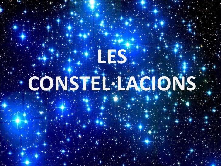 LES CONSTEL·LACIONS