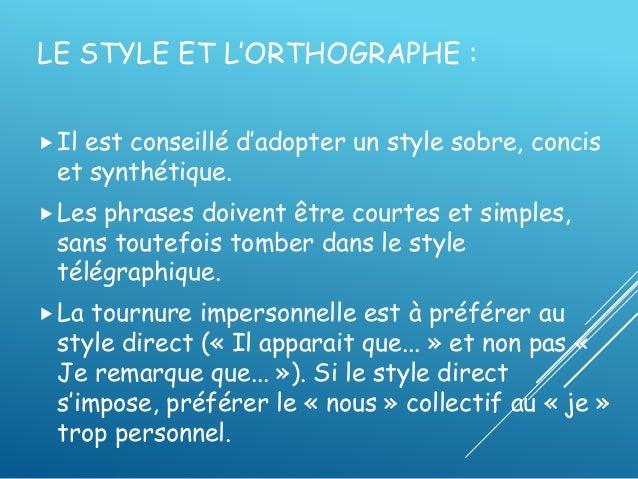 4. LE STYLE
