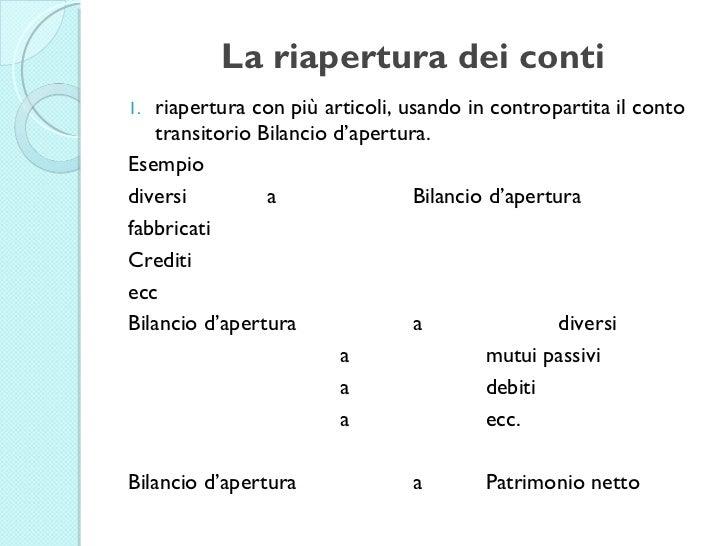 Contabilit e fiscale modulo 1 le scritture di assestamento di r - Crediti diversi in bilancio ...