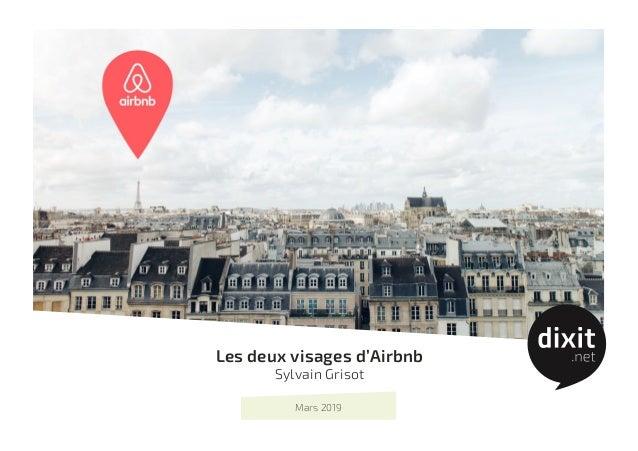 Les deux visages d'Airbnb Sylvain Grisot Mars 2019