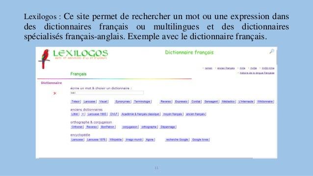 Les dictionnaires et encyclop dies en ligne - Office de la langue francaise dictionnaire ...