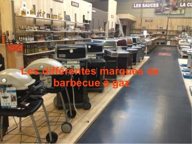 Les différentes marques de barbecue à gaz