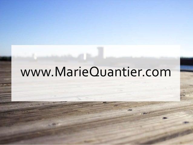 www.MarieQuantier.com