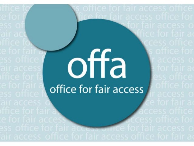 About OFFAOur role:To promote and safeguardfair access to higher educationfor lower income and otherunder-represented grou...