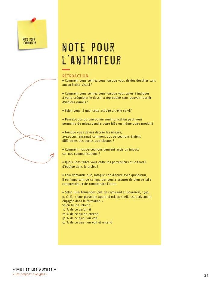 NOTE POUR                           note p o ur      L'ANIMATEUR                           l'anim at e ur                 ...