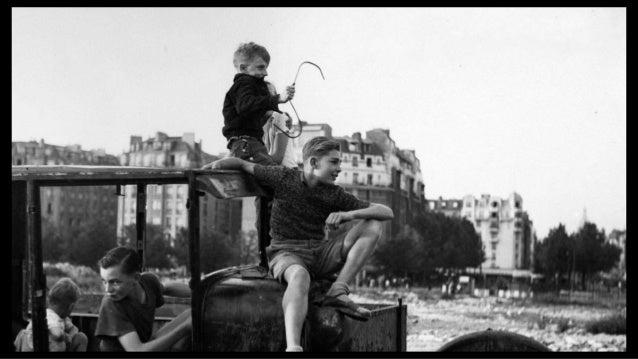 Les enfants de Robert Doisneau Robert Doisneau's children