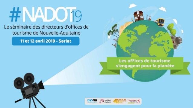 Enjeu climatique : comment les offices de tourisme peuvent-ils s'engager ? Guillaume Cromer – 11 avril 2019