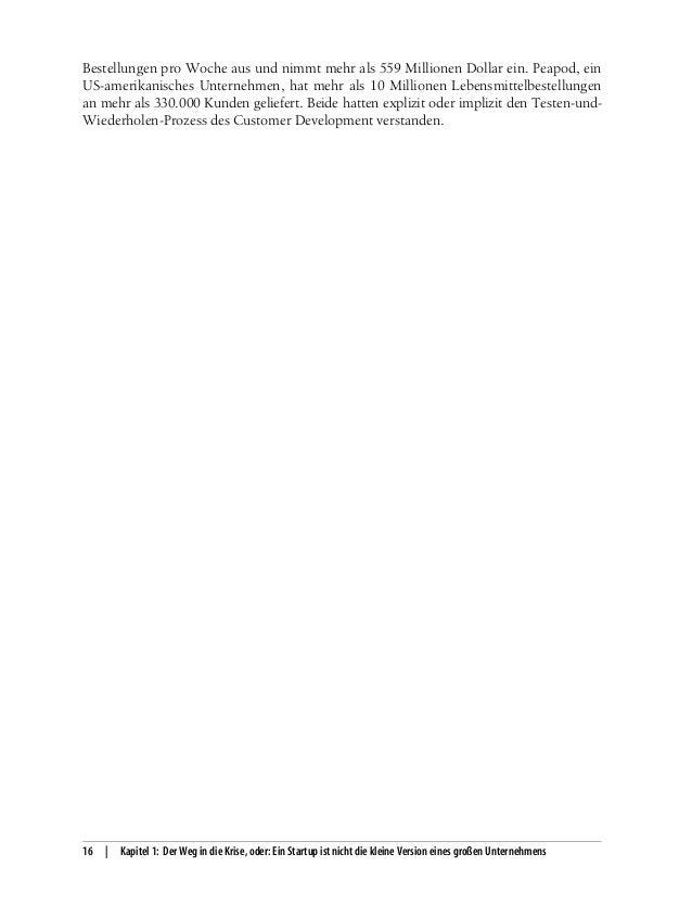 Das Handbuch für Startups (The Startup Owner\'s Manual auf Deutsch) - …