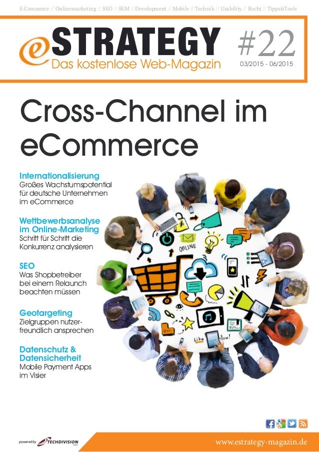 E-Commerce // Onlinemarketing // SEO // SEM // Development // Mobile // Technik // Usability // Recht // Tipps&Tools #2203...