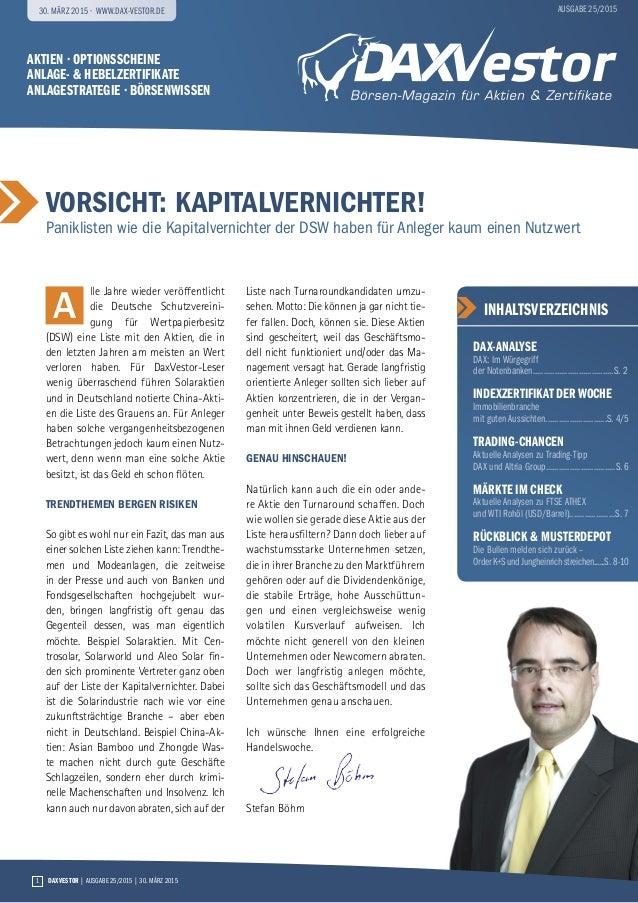Aktien · Optionsscheine Anlage- & Hebelzertifikate anlagestrategie · Börsenwissen vorsicht: Kapitalvernichter! Paniklisten...