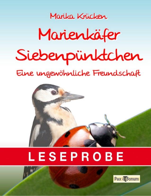 Pax et Bonum Verlag Berlin Leseprobe Marienkaefer Siebenpuenktchen