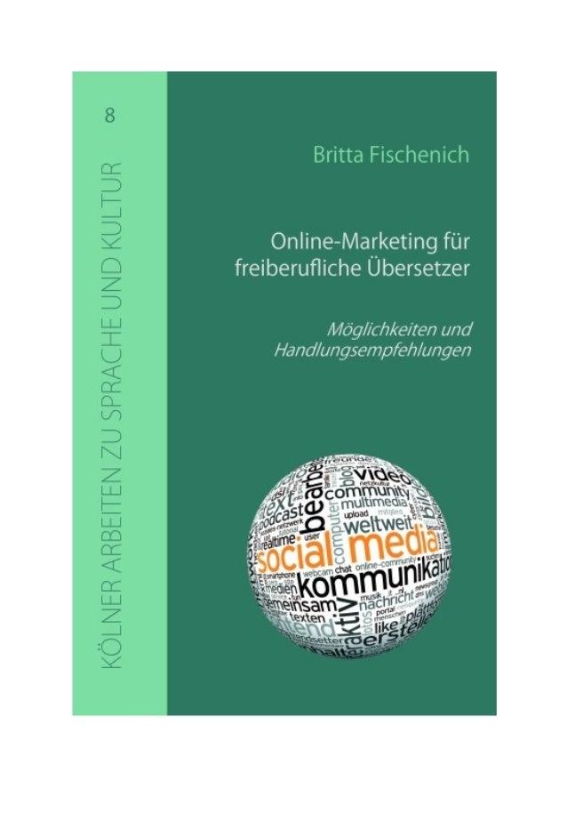 Britta Fischenich Online-Marketing für freiberufliche Übersetzer