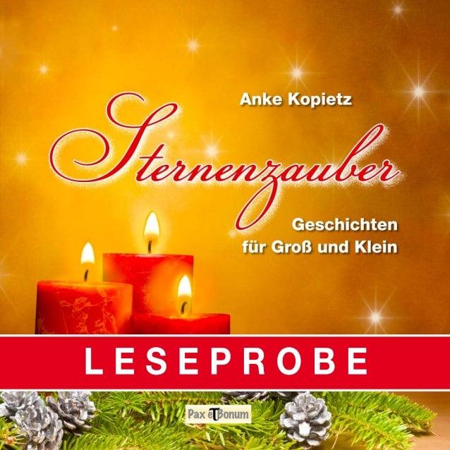 """Leseprobe Buch: """"Sternenzauber"""" bei Pax et Bonum Verlag Berlin"""
