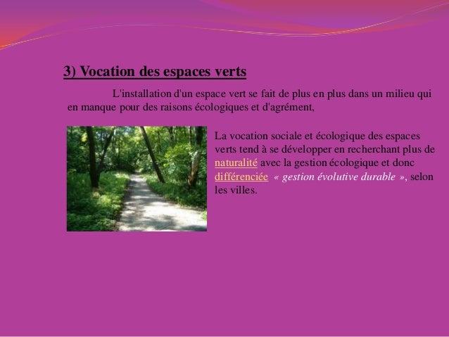 espace vert definition