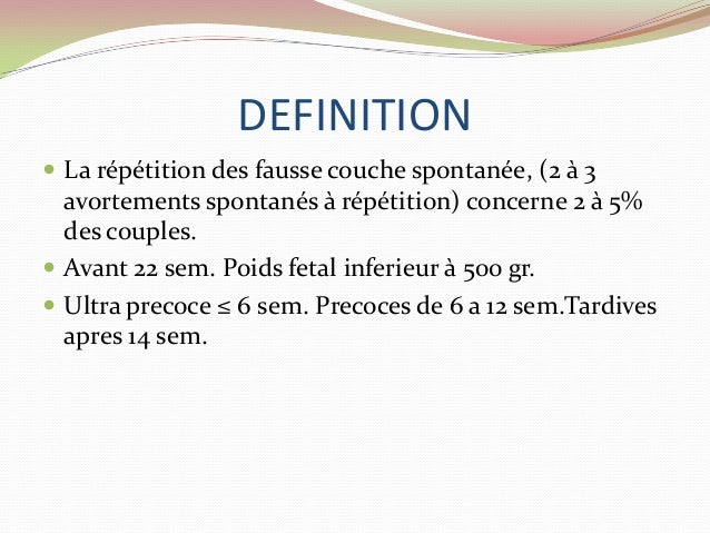 Lesfausses couches spontanees a repetition - Fausse couche a repetition traitement ...