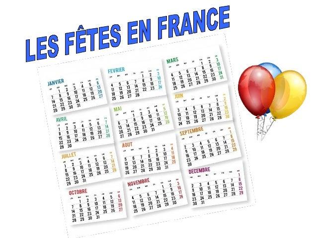 En France, il y a de nombreuses fêtes civiles et réligieuses tout au long de l'année. Nous allons connaître quelques unes ...