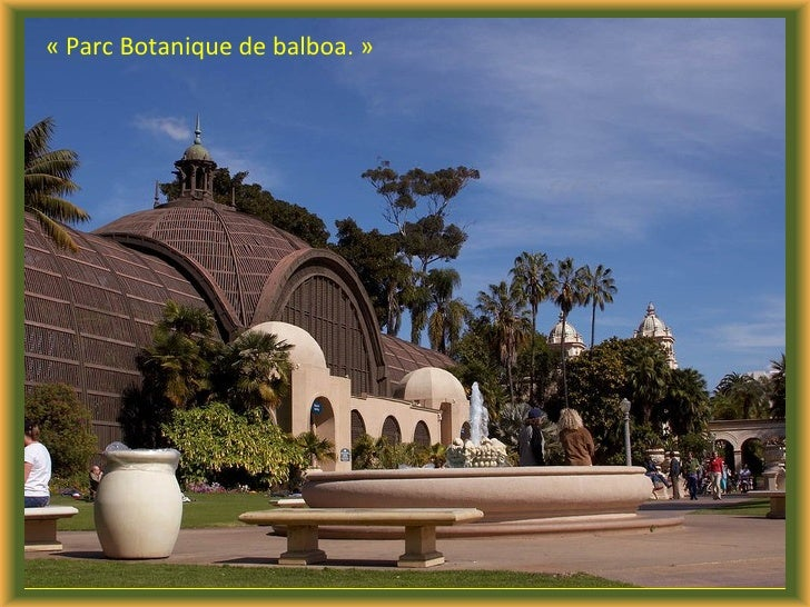 Les Fleurs De Balboa Park J50 Slide 2