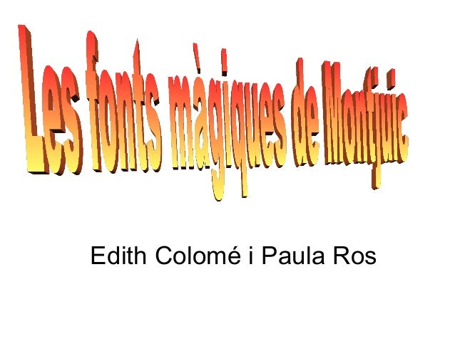 Edith Colomé i Paula Ros