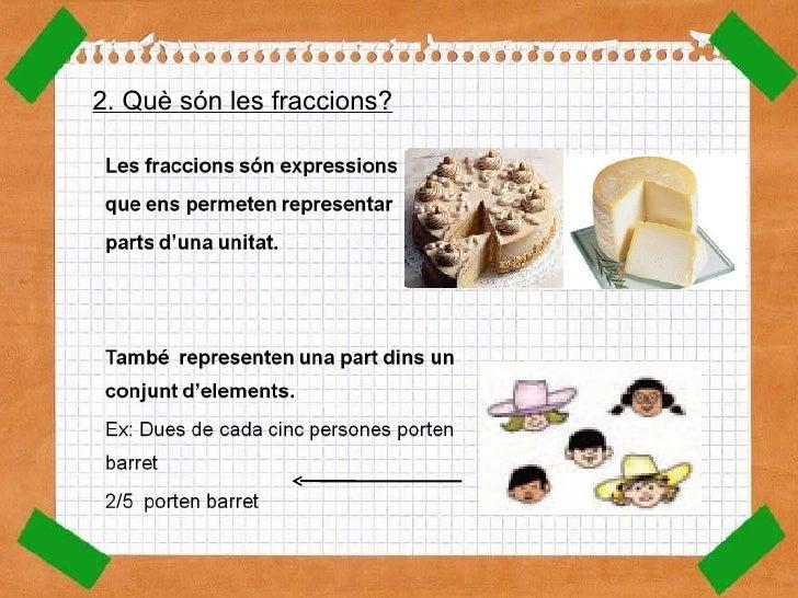 Les fraccions Slide 3