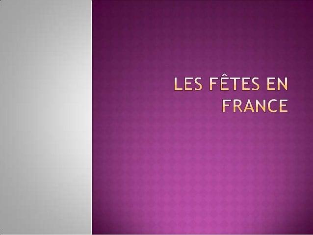 Le 1er Janvier On se souhaite une  bonne et heureuse  année                 Jour férié en France
