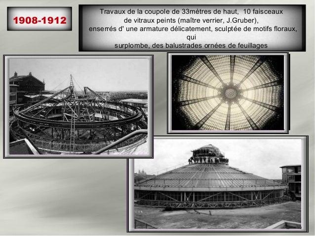 1908-1912   En travaux, l escalier signé Louis Majorelle