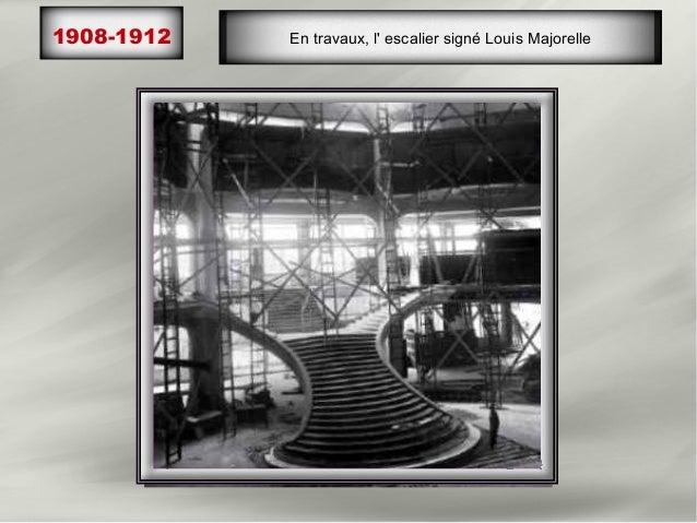 Inauguration du nouveau magasin: 5 étages, sous des1912                          balcons,       96 rayons, salon de thé, ...