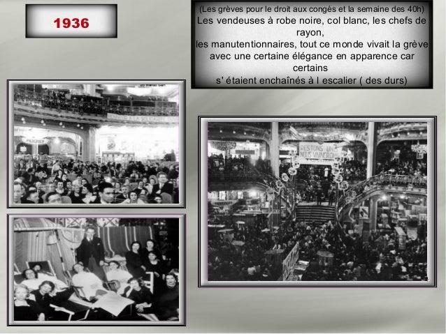 1934- Décoration Noël1934-1938   1938- Décoration pour la venue du roi Georges VI
