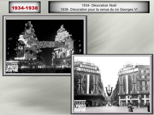 1951   Concert d EDITH PIAF devant les Galeries Lafayette          Inauguration du plus haut escalator d Europe