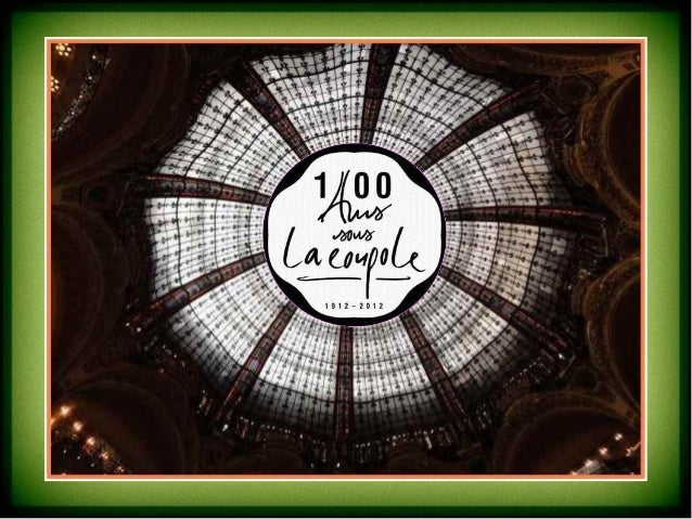 10 blasons symbolisent les villes de France, où les galeries Lafayette sont implantées(comptoirs de ventes ou bureaux d ac...