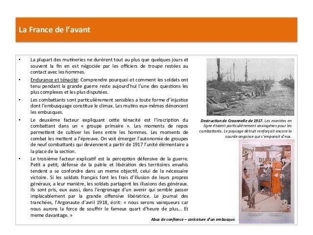 La  France  de  l'avant   • La  plupart  des  mu:neries  ne  durèrent  tout  au  plus  que  q...