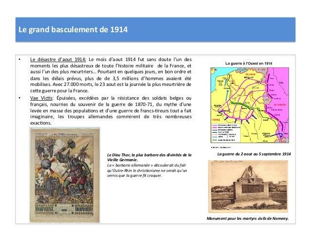 Le  grand  basculement  de  1914   • Le   désastre   d'aout   1914:   Le   mois   d'aout   1914 ...