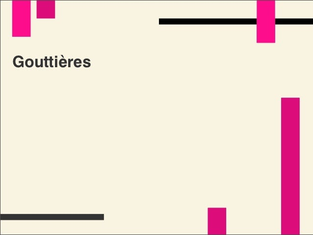 Grilles macro-typo   /184Gouttières