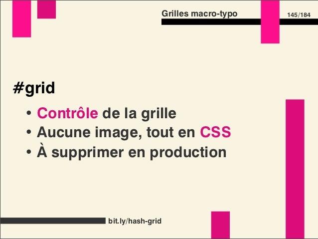 Grilles macro-typo                          172 /184Mon rythme vertical est casséLorem ipsum dolor sit amet, consectetur a...
