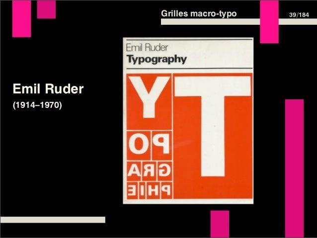Grilles macro-typo   39 /184Emil Ruder(1914–1970)