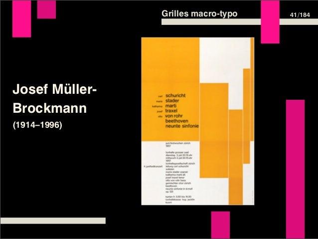 Grilles macro-typo   41 /184Josef Müller-Brockmann(1914–1996)