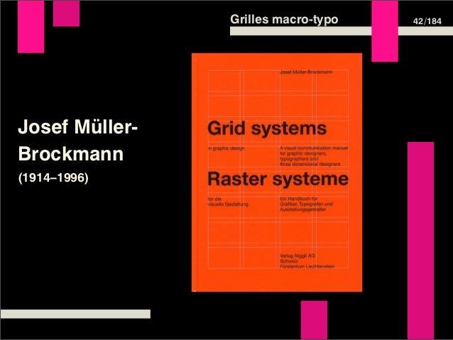 Grilles macro-typo   42 /184Josef Müller-Brockmann(1914–1996)