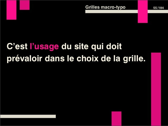 Grilles macro-typo   57 /184Définir sa grille