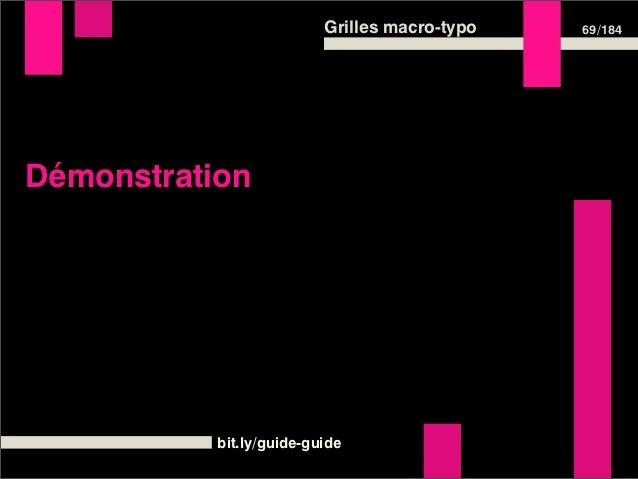 Grilles macro-typo   71 /184La grille sur le web : exemples